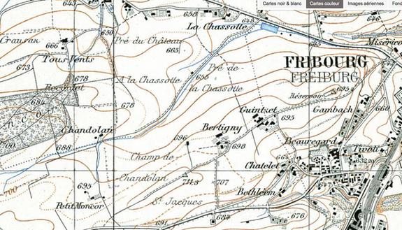 Réflexion sur le développement urbain de Fribourg