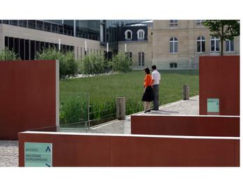 Jardins de l'hôtel de ville de Sceaux