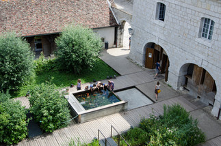 Jardin de la citadelle de Besançon - France