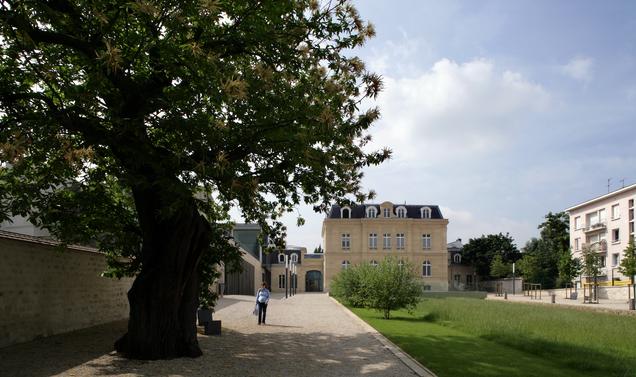 Jardin de l'Hôtel de Ville de Sceaux