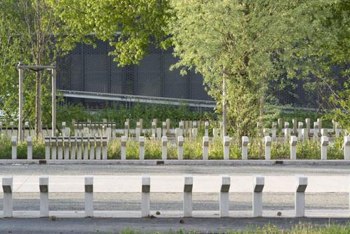 Paysage du centre culturel de Giromagny