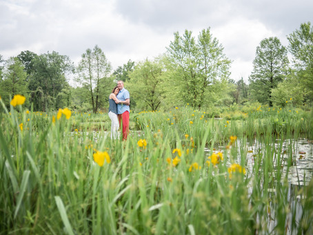 Lush Engagement Shoot l Kenilworth Aquatic Gardens