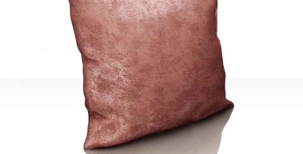 "Подушка ""Plain Lux"",нежно-брусничный, 40х40см"