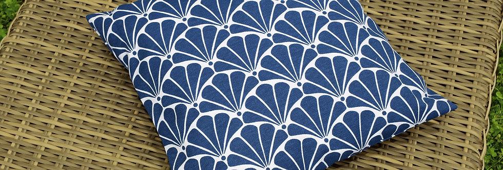 "Подушка декоративная, ""Blue Garden"", 40x40см."