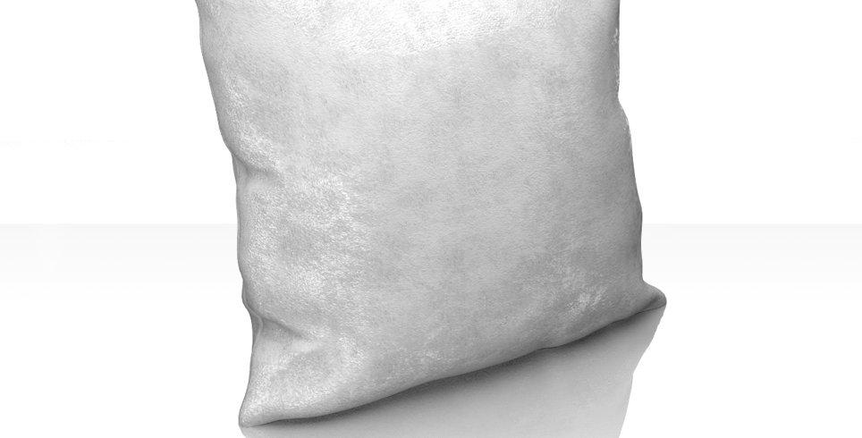 """Подушка """"Plain Lux"""", белый, 40х40см"""