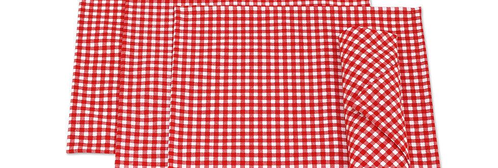 """Салфетка """"Red Kimberly"""",  4 шт., 32x32см"""