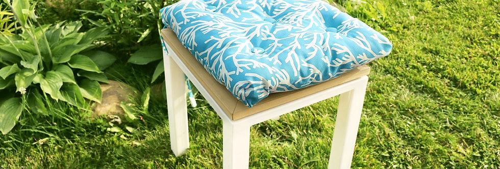 """Подушка на стул, """"Sky Corals"""",  40x40см."""