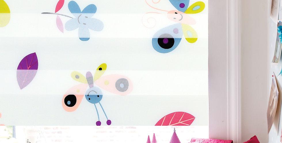 Ролла ДеньНочь, бабочки