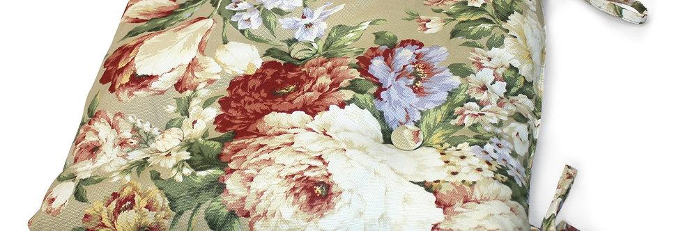 """Подушка на стул """"Flower"""", 40х40см"""