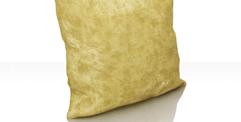 """Подушка """"Plain Lux"""",светло-горчичный, 40х40см"""