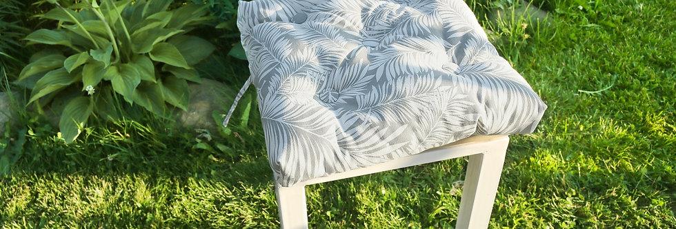 "Подушка на стул, ""Grey  Palma"",  40x40см."