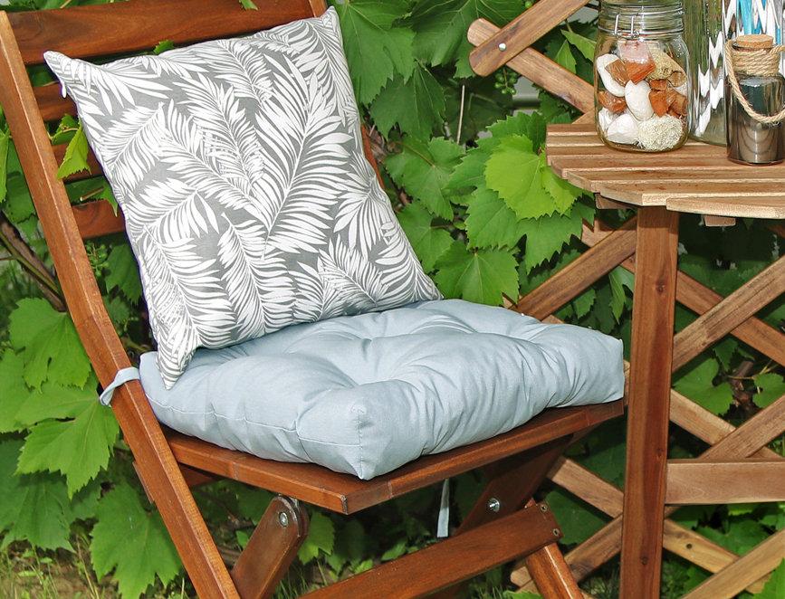 """Подушка на стул, """"Grey"""",  40x40см."""