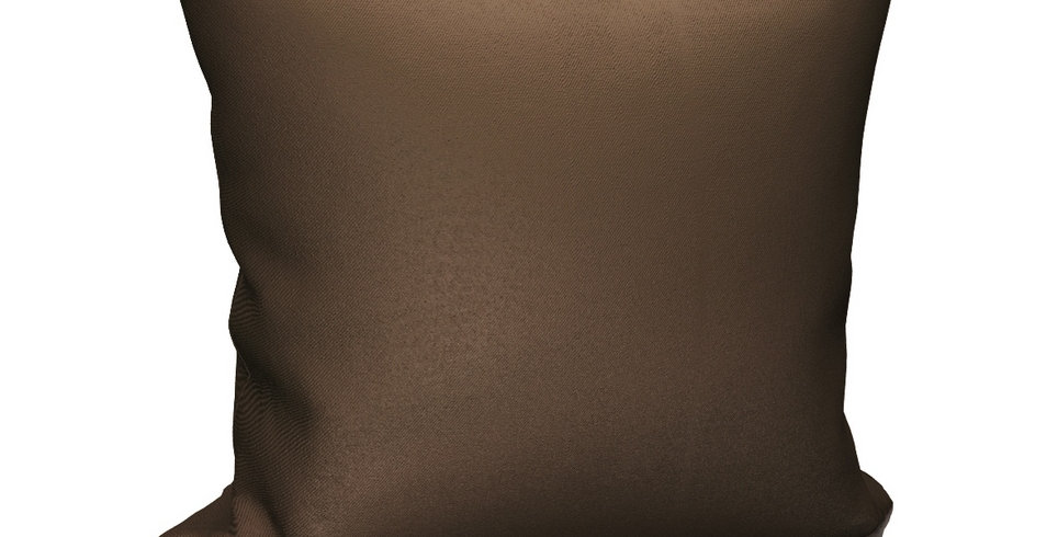 "Подушка ""Blackout"", коричневый, 40х40"