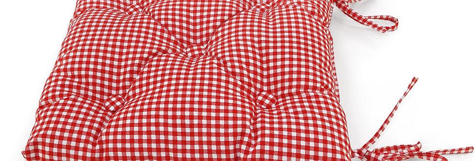 """Подушка на стул, """"Red Kimberly"""", 40x40см"""