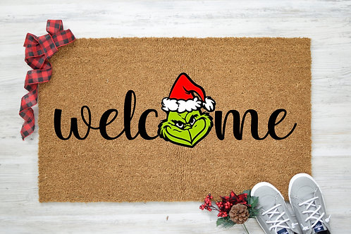 Welcome Grinch (Face)