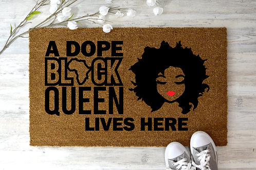 Black Queen Lives Here