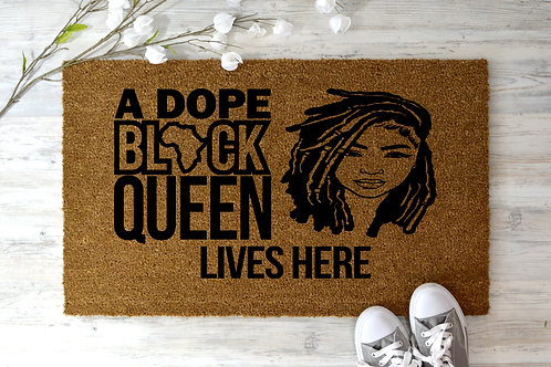 Dope Black Loc'd Queen