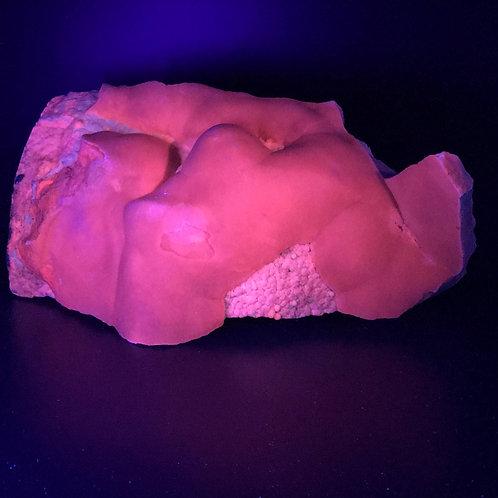 ARAGOSTRONZIANITE UV FLUORESCENT BOCCHEGGIANO - 22 x 10 x 10 cm