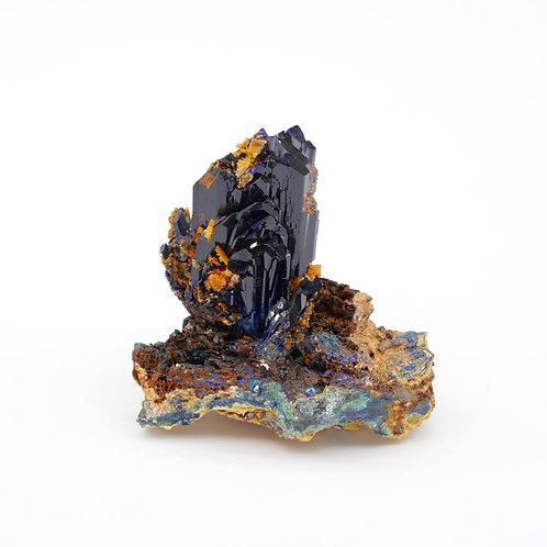 AZZURRITE TOUISSIT - 4 x 3,7 x 2,7 cm