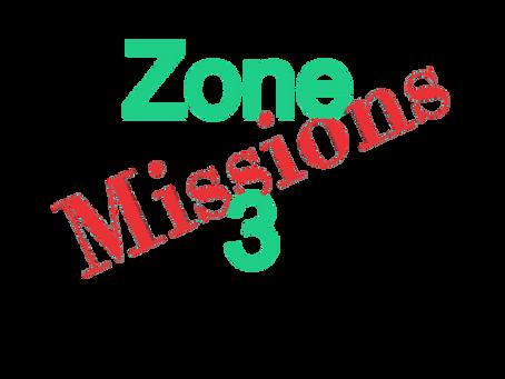 Zones : Missions semaine 2021-15- Zone 3