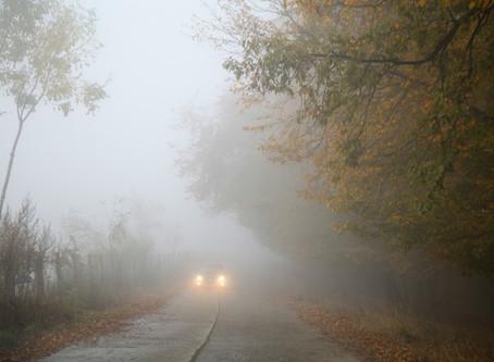 Conduire dans le brouillard