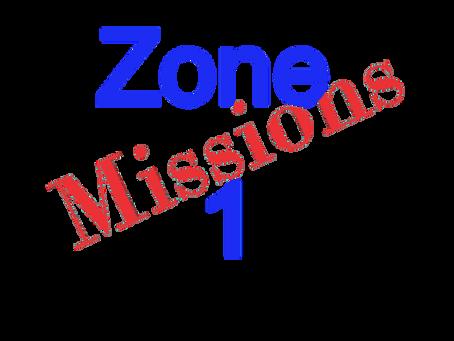 Zones : Missions semaine 2021-05 - Zone 1