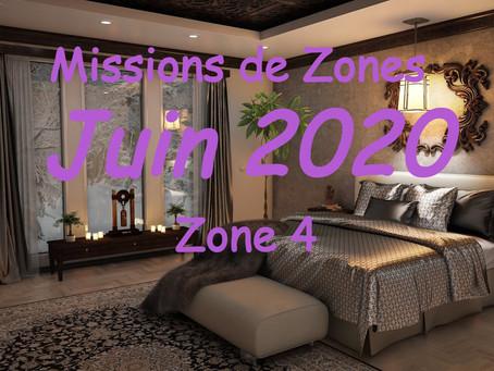 Zones : Missions semaine 26 - Zone 4
