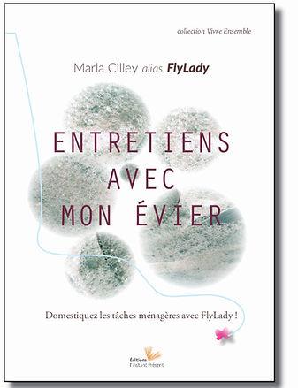 Livre Entretiens avec mon évier de Marla Cilley alias FlyLady