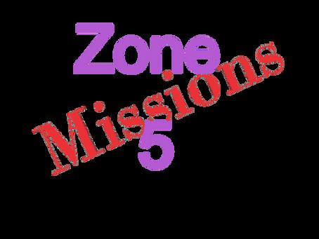 Zones : Missions semaine 2021-04 - Zone 5