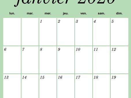 Avez-vous un problème de calendrier?