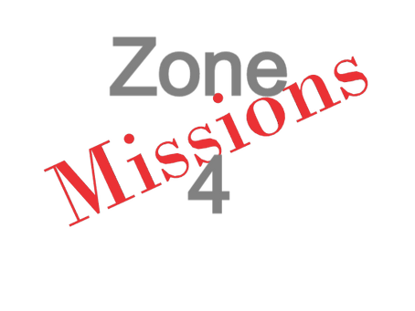 Zones : Missions semaine 2021-12 - Zone 4