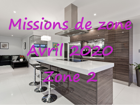 Zones : Missions semaine 15 - Zone 2
