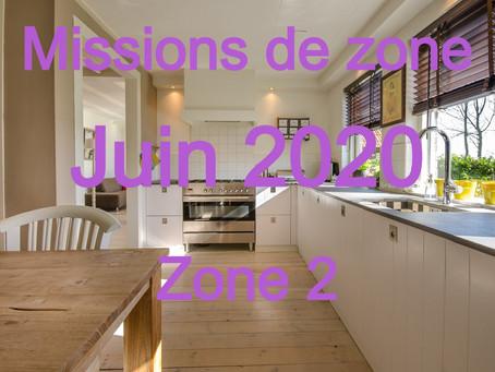Zones : Missions semaine 24 - Zone 2