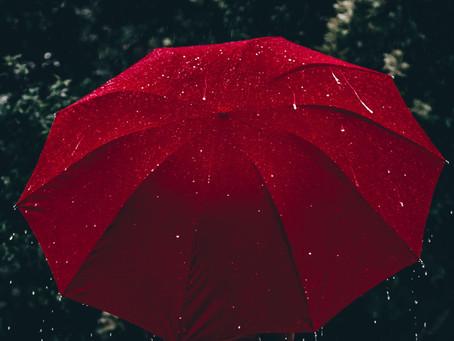 Les jours pluvieux ne me dépriment pas