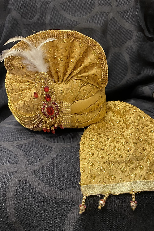 Pagdi/Ferdig turban til bryllup/temakveld