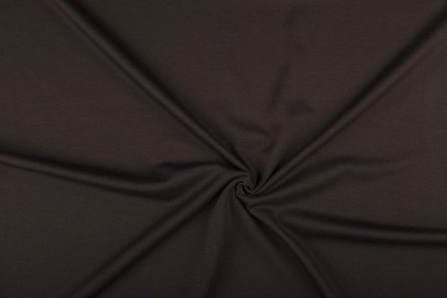 Mørk Brun Uni fleece