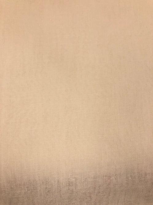 100% tynn bomull 19 hvit