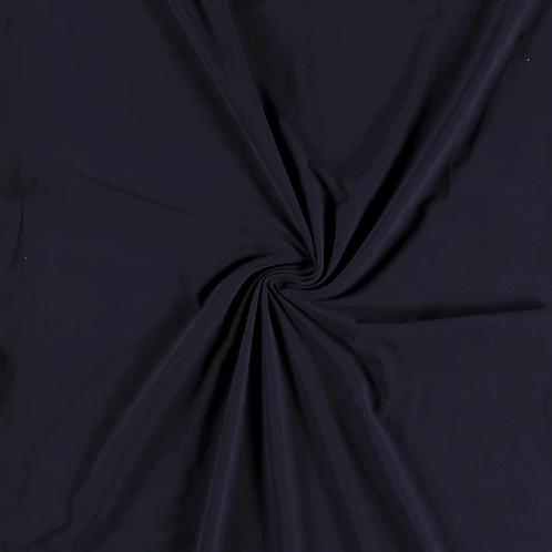 Bomull Jersey Marineblå