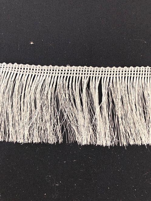 Frynsebånd grå 7,5cm