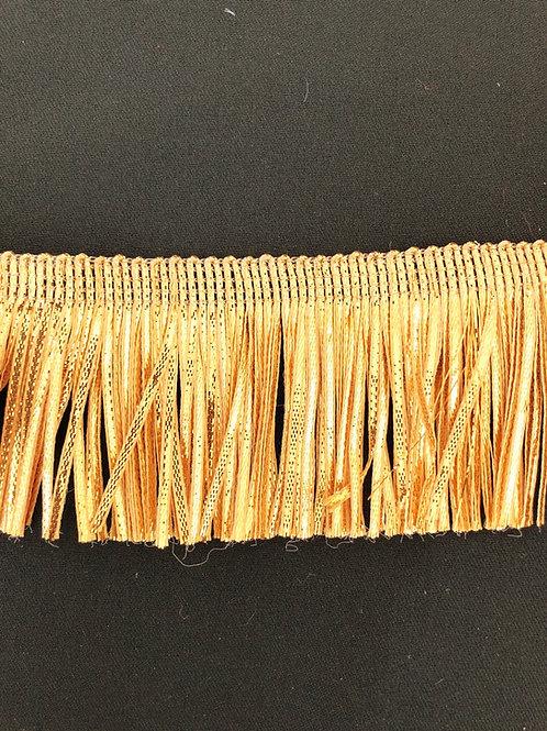 Frynsebånd Gull 7,5cm