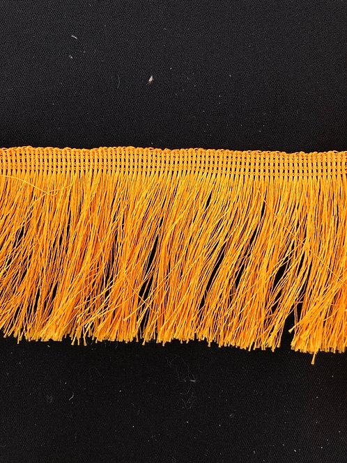 Frynsebånd gul 7,5cm