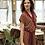 Thumbnail: Bomull Jersey Mozaik Oker