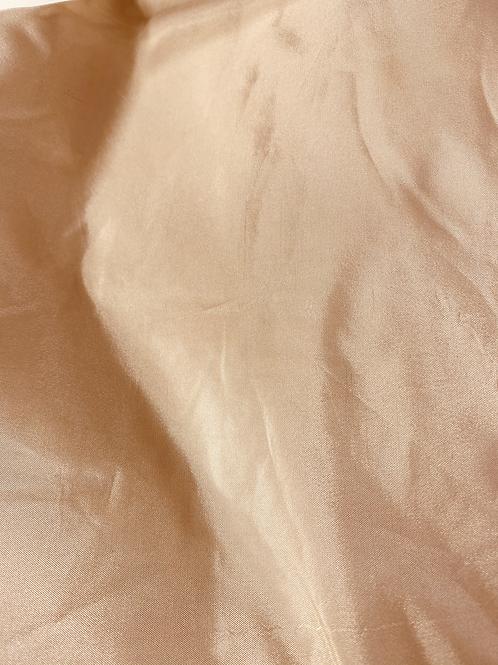 Poly-silke 48 Hvit