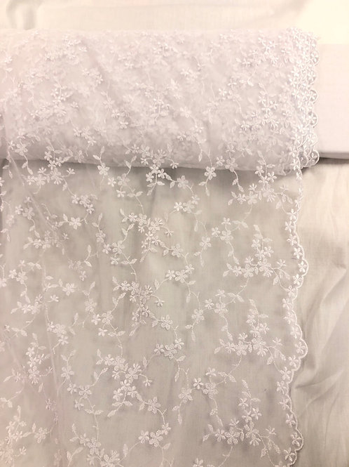 Blonde stoff 7 hvit