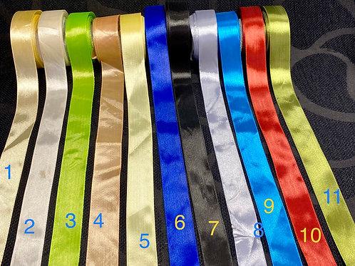 Silkebånd (2,5cm)