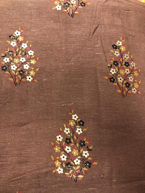 Mønstret Bomull 12