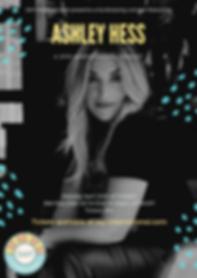 Black Abstract Brushstroke Music Poster