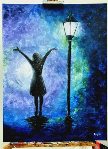 Dancing and singing in the rain