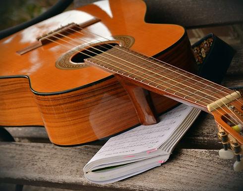 bench_guitar_musical_instrument_song_boo