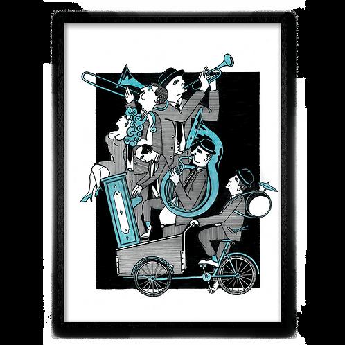 Bicycle Jazz Band